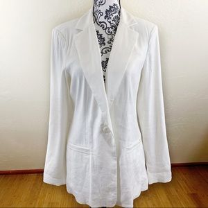 Cabi Linen Blend Everly Blazer NWT Size 8